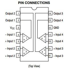 LM339N Pin Diagram