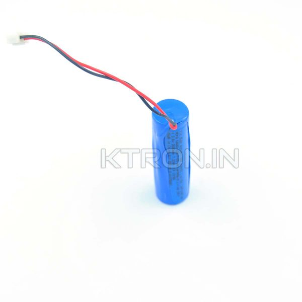 KSTB0014 18650 2000 maH Lithium Ion Battery MORA - With Wire - 1C Rated - 300 Cycles