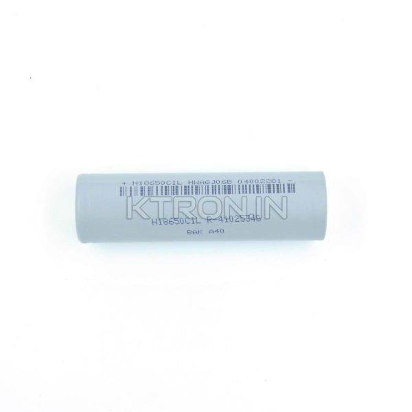 KSTB0015 18650 2400mah Lithium Ion Battery BAK - 3C Rated - 1000cycle