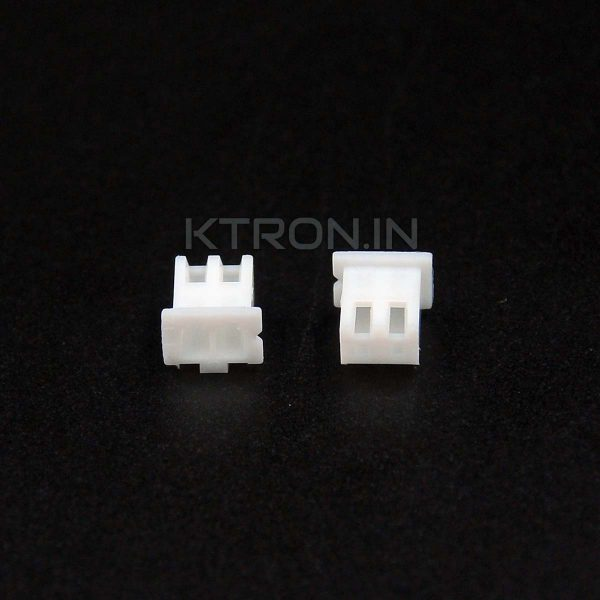KSTC0027 2 Pin JXT XH Female Connector - 2.54mm Pitch