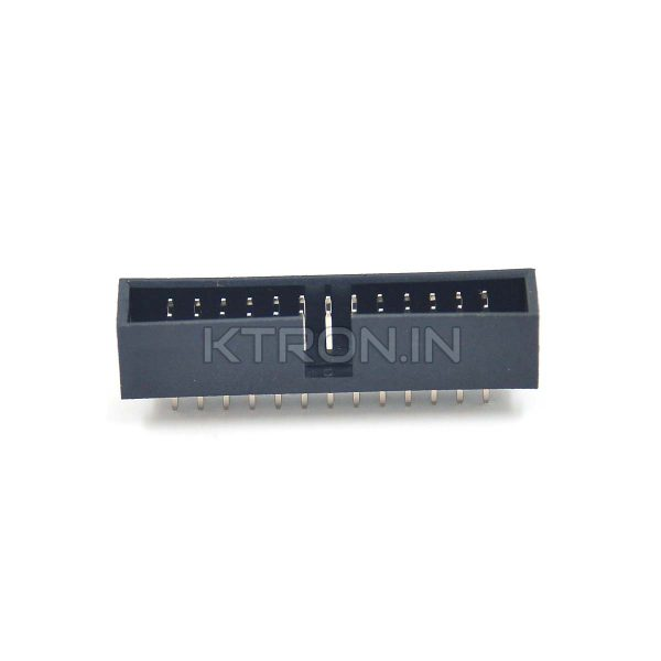 KSTC0068 26 Pin Box Header Straight Male - 13 x 2 Pin
