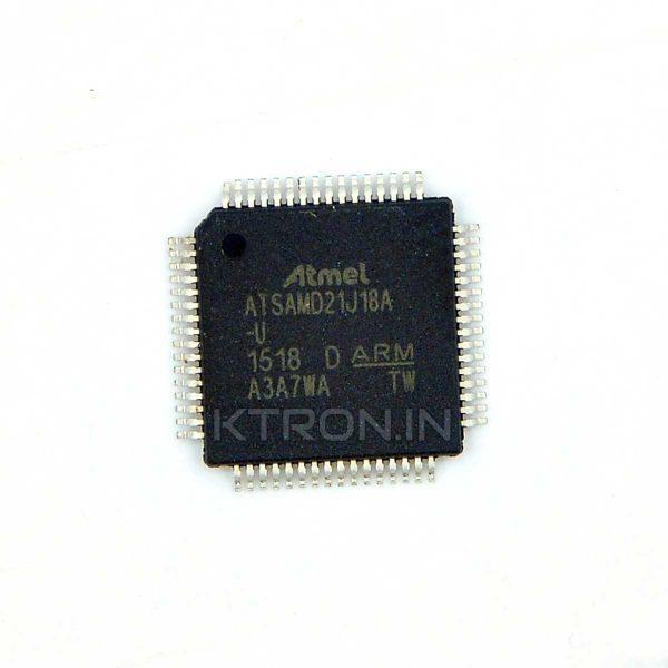 KSTM0053 Atmel ATSAMD21J18A-AUT 32 Bit ARM Cortex M0+ MCU - TQFP64