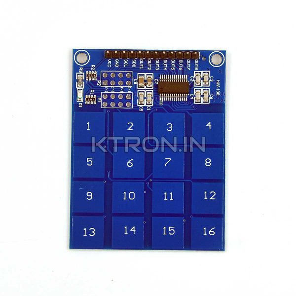 KSTM0075 16 Channel Capacitive Touch Sensor Keypad Module