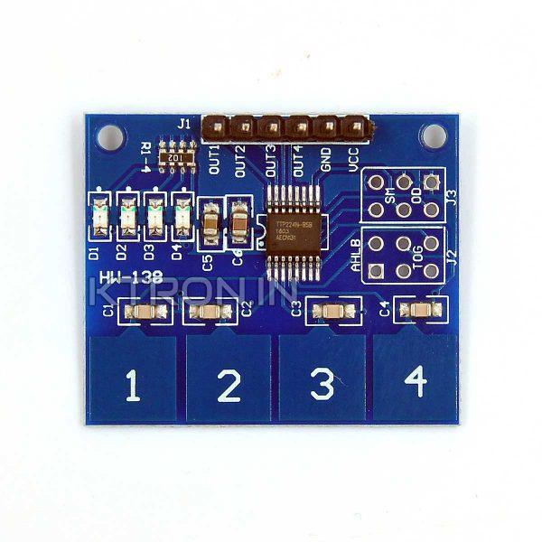KSTM0076 4 Channel Capacitive Touch Sensor Module