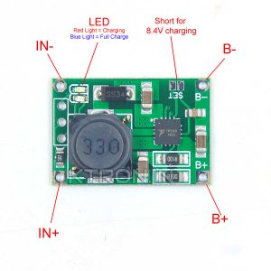 TP5100 Dual/Single 8.4V/4.2V Li-ion Battery Charging Module