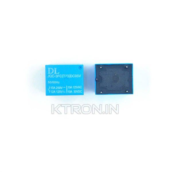 KSTR0219 5V 10A SPDT Sugar Cube Relay