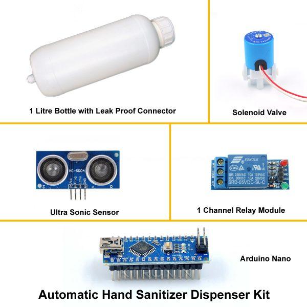 Hand Sanitizer Dispenser Kit