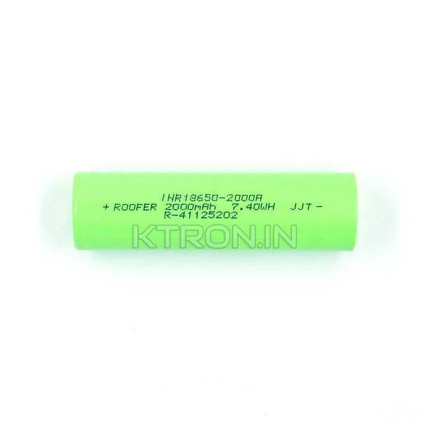 KSTM0632 18650 2000mah Lithium Ion Battery Roofer