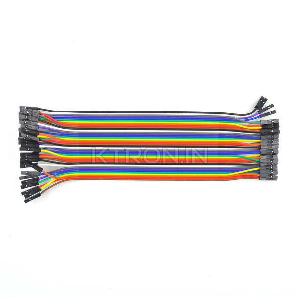 Female to Female Jumper Wire 40pin 20cm