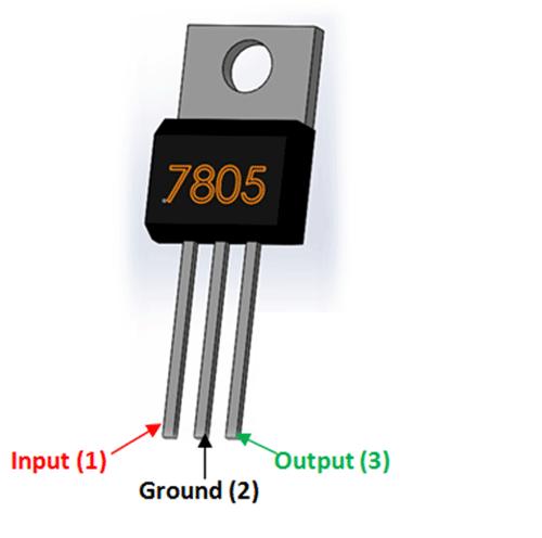 7805 Regulator Pinout