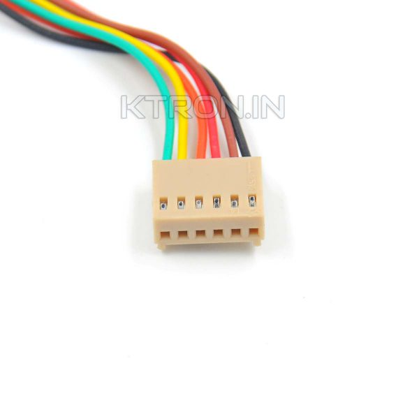 6 Pin 2510 Series Female Cable