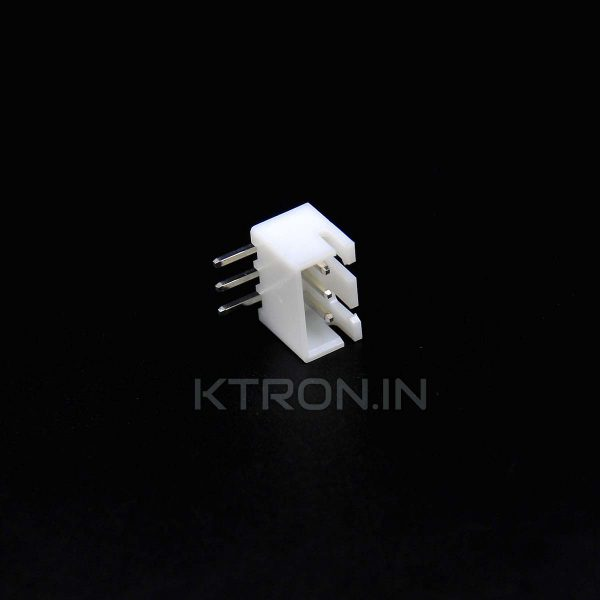 3 Pin JST Male Right Angle Connector