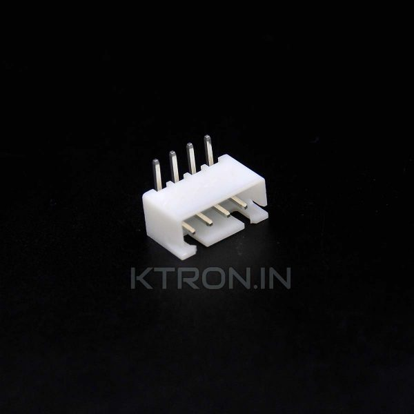 4 Pin JST Male Right Angle Connector