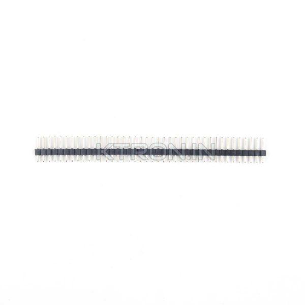 KSTC0617 Header Pins 40x1 Male - 2.54mm Pitch - Brass